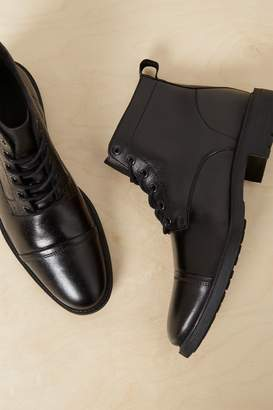 French Connenction Leo Formal Lace Up Boots