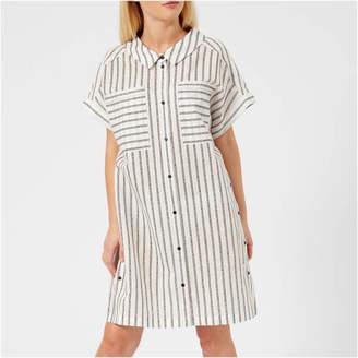 Karl Lagerfeld Women's Captain Stripe Dress