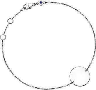 Astley Clarke Cosmos disc sterling silver bracelet