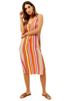Forever 21 Striped Tank Dress