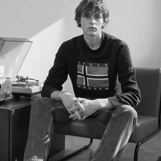 Sandro Sweatshirt with embroidered patch
