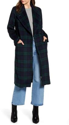 AVEC LES FILLES Double Face Wool Blend Coat