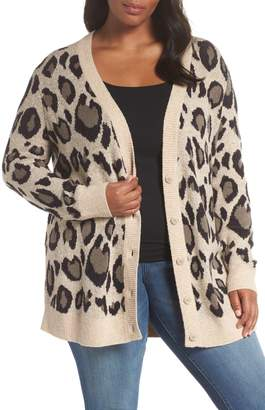 Sejour Checkered Cardigan