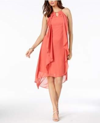 Thalia Sodi Chain-Neck High-Low Halter Dress, Created for Macy's