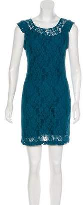 DKNY Mini Lace Dress