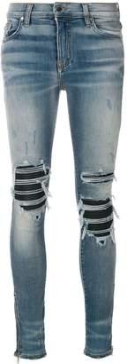 Amiri MX1 knee-patches skinny jeans