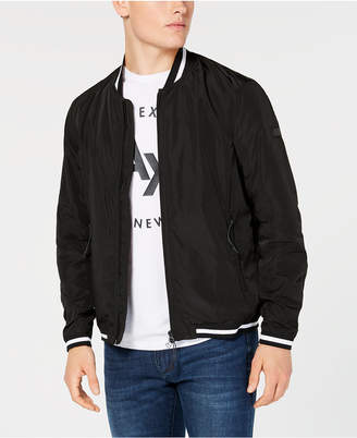 Armani Exchange Lightweight Bomber Jacket