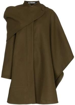 Jacquemus le manteau bibi wool cape