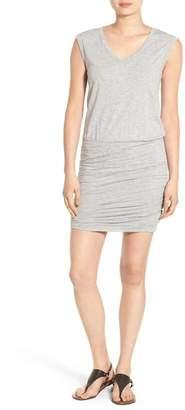 Velvet by Graham & Spencer Slub Knit Blouson Dress