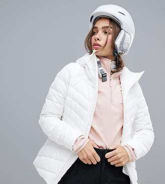 The North Face Moonlight down ski jacket in white