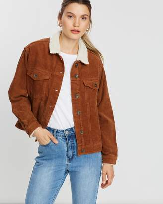 Cotton On Batwing Fashion Trucker Jacket