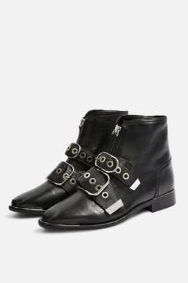 Topshop WIDE FIT Alex Boots