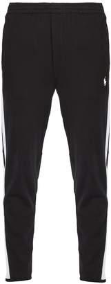 Polo Ralph Lauren Side-striped cotton-jersey track pants