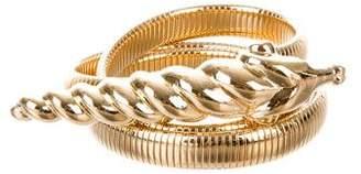 Judith Leiber Coiled Stretch Belt $95 thestylecure.com