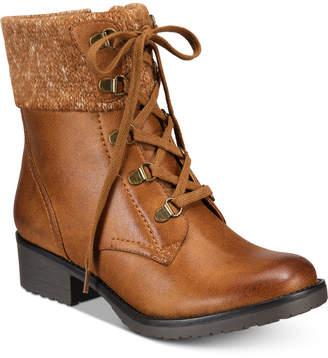 Bare Traps Baretraps Orley Lace-Up Booties Women's Shoes
