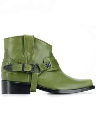 Toga Virilis square toe ankle boots
