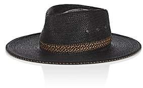Eric Javits MEN'S OUTBACK HAT - BLACK SIZE 71/2