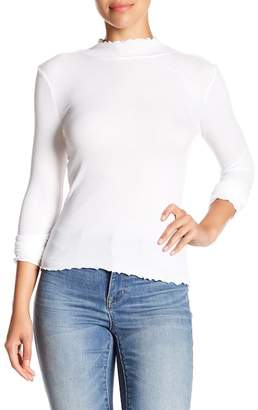 Abound Ruffle Edged Knit Top