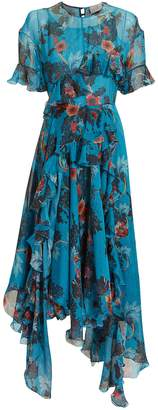 Preen by Thornton Bregazzi Nora Floral Midi Dress