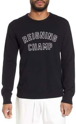 Reigning Champ Varsity Logo Sweatshirt