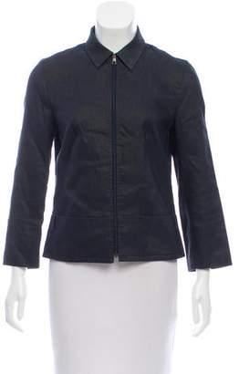 Neil Barrett Long Sleeve Zip-Up Jacket