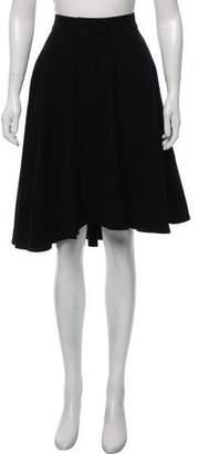 Ter Et Bantine A-Line Wool Skirt