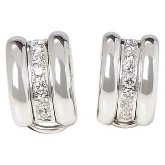 Chopard White gold earrings