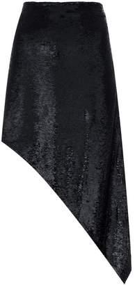 IRO asymmetric sequin skirt