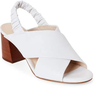 Cole Haan Optic White Anastasia City Slingback Sandals