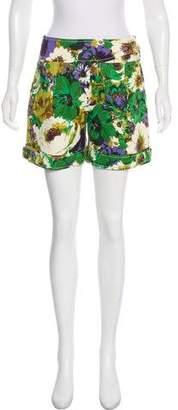 Blumarine High-Rise Floral Print Shorts w/ Tags