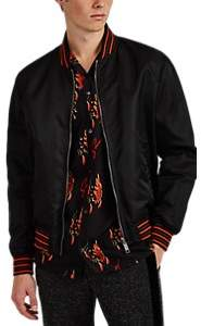 "Givenchy Men's ""World Tour"" Reversible Bomber Jacket - Black"
