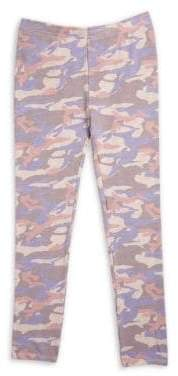 Monrow Girl's Camouflage Sweatpants