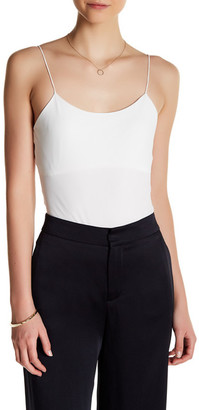 tibi Kate Stretch Jersey Bodysuit $225 thestylecure.com