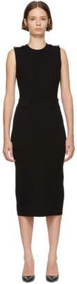 Victoria Beckham Black Signature Crewneck Dress