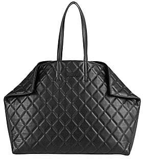 Alexander McQueen Women's Butterfly Quilted Leather Tote