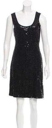 Calvin Klein Sleeveless Sequin Dress