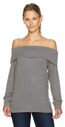 Cupcakes And Cashmere Women's Brooklyn Emily's Favorite Off The Shoulder Sweater