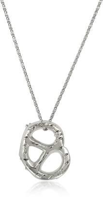 Tory Burch Pretzel Pendant Necklace