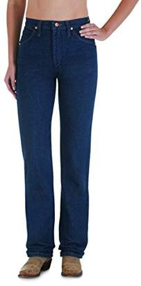 Wrangler Women's Cowgirl Cut Slim Fit Natural Waist Jean