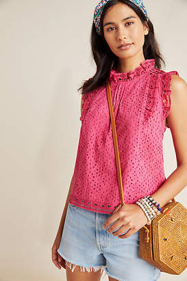 Maeve Tilly Eyelet Blouse