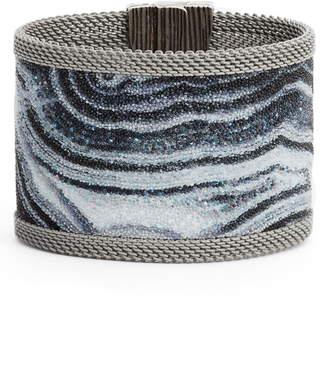6157b2bc1cc98 Swarovski Slake Crystal Gray Bracelet - Fxund.us