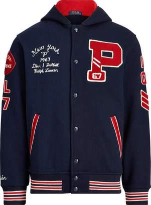 Ralph Lauren Hooded Letterman Jacket