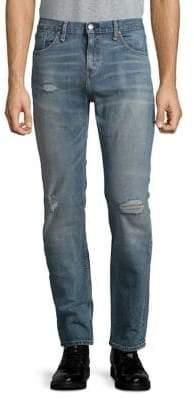 Levi's 511 Slim Fit Distressed Jeans
