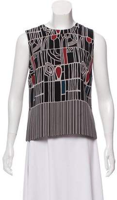 Maiyet Sleeveless Printed Top