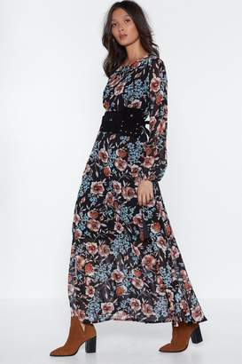 Nasty Gal Go Your Own Way Maxi Dress