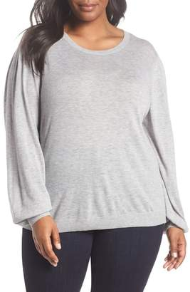 Sejour Balloon Sleeve Pullover