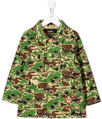 Mini Rodini camouflage denim jacket