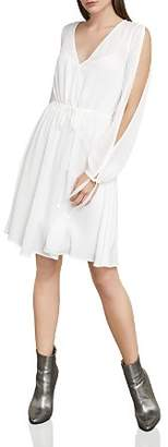 BCBGMAXAZRIA Cooper Slit-Sleeve Dress