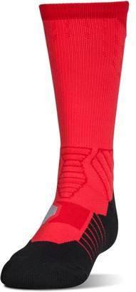 Under Armour Boys' UA Basketball Drive Crew Socks