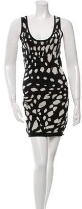Thakoon Sleeveless Wool Bodycon Dress